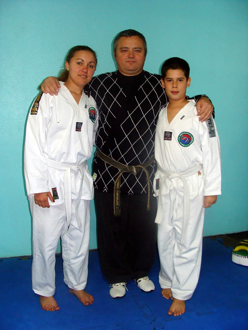 Exame de Taekwondo - 25/06/2010