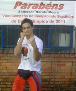 Ânderson campeão boxe